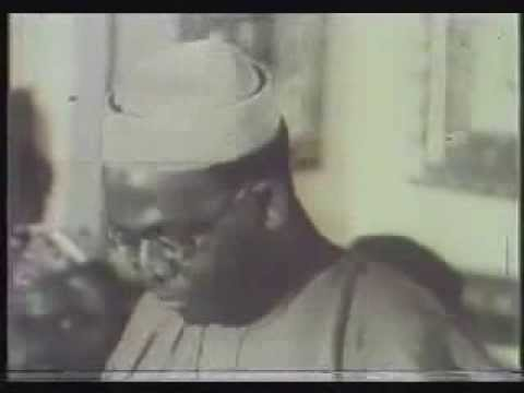 Chief Obafemi Awolowo in Constitution Conference 1958 and Commissioning of WNTV 1959