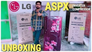 LG 190 L 4 Star Direct Cool Single Door Refrigerator | #GLB201ASPX Scarlet Plumeria