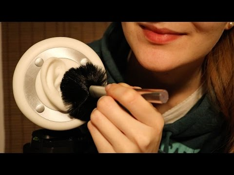 ASMR ♥ Ear Brushing | 3D Sound