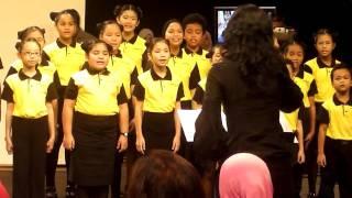 Radio Televisyen Malaysia (RTM) Children choir.Anaklah ayam songs.Lagu anaklah ayam 2010