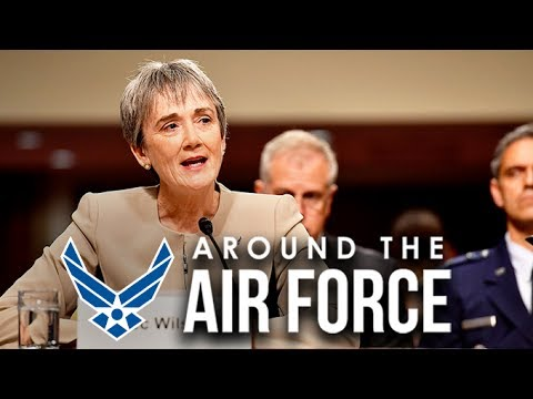 Around the Air Force:  SECAF & CSAF Testify Before Senate Armed Services Committee