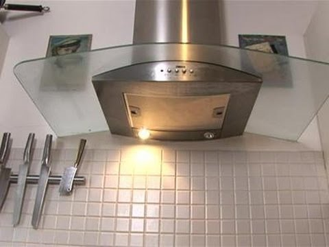 How To Clean Your Glass Oven Hood Step By Step Youtube
