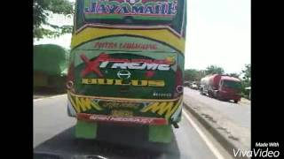 Pelari pantura bus HARYANTO,JAYAMAHE,ALFARRUQ_bus cepat