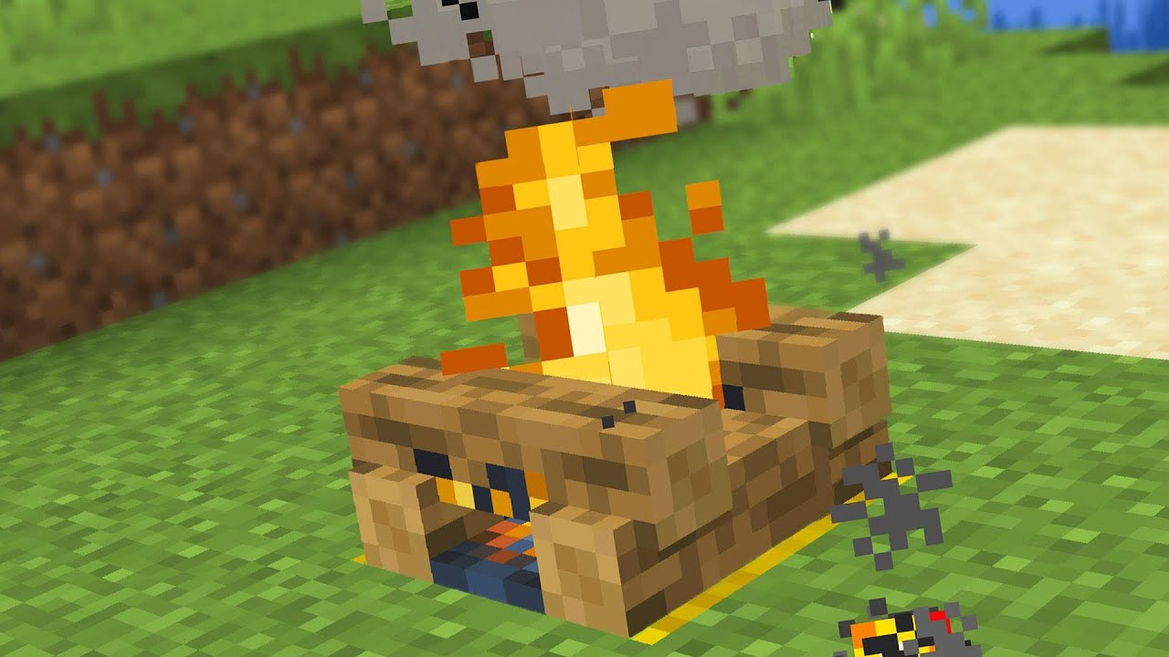How To Make A Fire Pit In Minecraft
