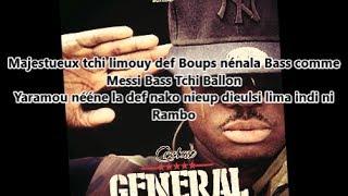 Canabasse - Général (Lyrics)
