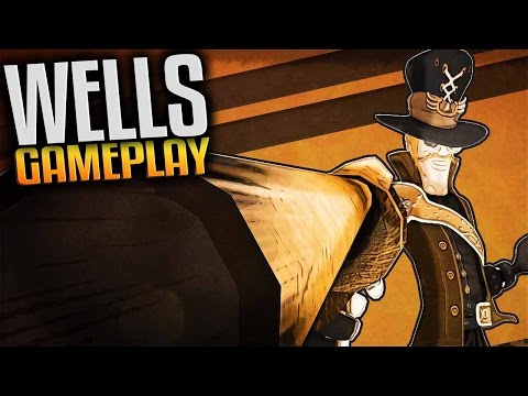 Wells Gameplay  - Steampunk Run and Gun (Let's Play Wells Gameplay side-scrolling game w 3D graphics