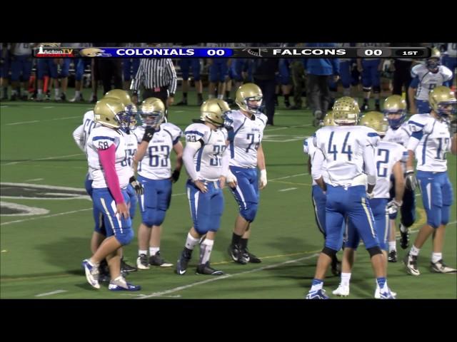 Colonials Football week 6 at Cambridge 9/16/15