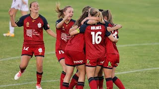 Adelaide united women prevailed 1-0 over perth glory in a crucial bounce back game the westfield w-league 2020/21 season at marden sports complex.🎥: @fox...