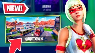 *NEW* NUKETOWN GUN GAME in Fortnite! (MUST SEE)