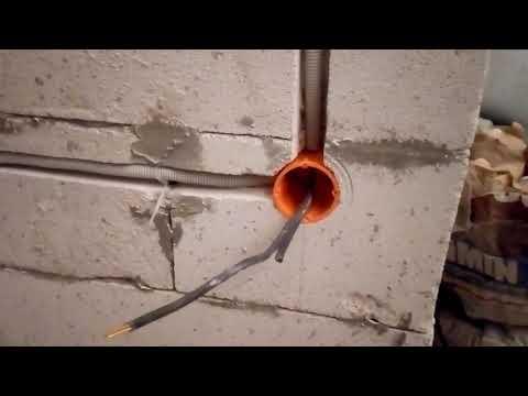 Упрощенный монтаж проводки, глубокие подрозетники