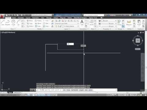 AutoCAD 2013 Tutorial | Simple CAD Techniques Part 1 | InfiniteSkills