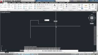 Autocad 2013 Tutorial | Simple Cad Techniques Part 1 | Infiniteskills