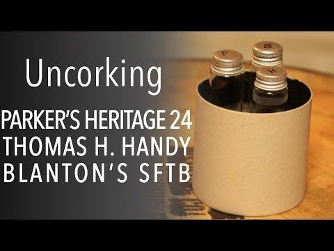 Uncorking Parker's Heritage 24, Thomas H. Handy & Blanton's SFTB - It's Bourbon Night