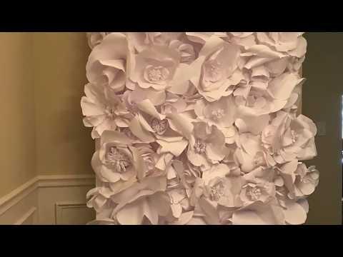DIY $15 Wedding Backdrop or Photo Booth