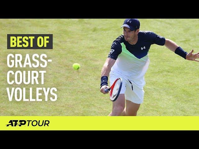 Grass-Court Volleys | THE BEST OF | ATP