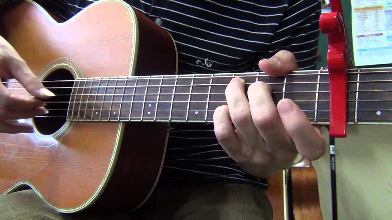 Lonely 2ne1 Acoustic Guitar Chord And Lesson Youtube