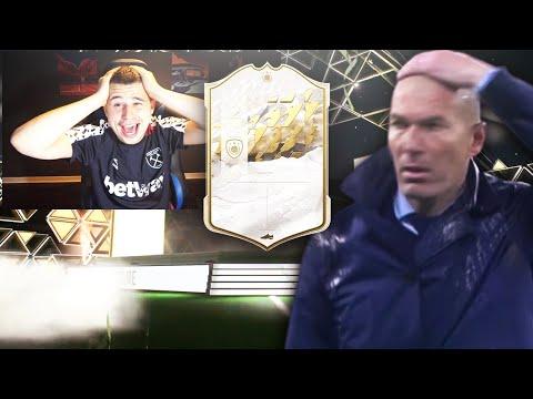 JE PACK MA PREMIERE ICONE !! - FIFA 22