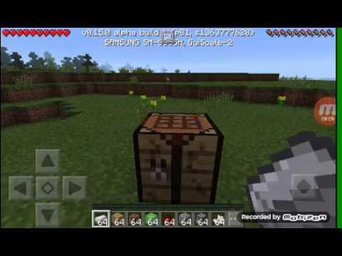 Как крафтится поршень липкий поршень и наблюдатель Minecraft PE на выживание