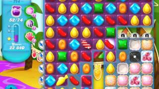 Candy Crush Soda Saga Level 714 - NO BOOSTERS