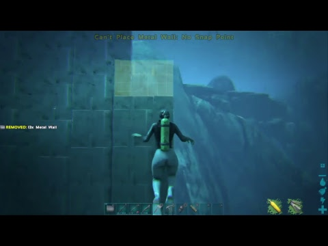 Playing Some Ark 5. Building underwater cage wit Vaeh