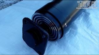 Гидроцилиндр подъема кузова ЗИЛ 4-х штоковый (заводской)