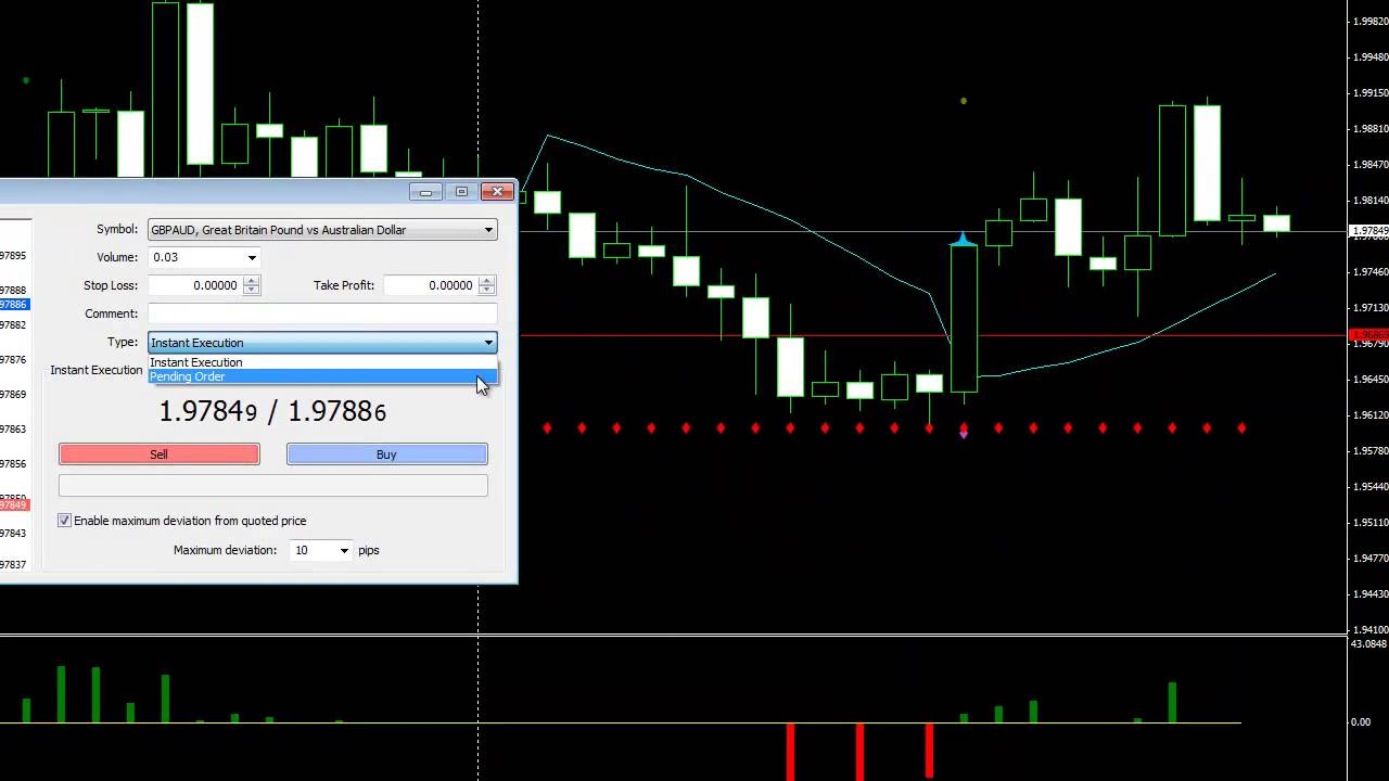 how to place a trailing stop limit order