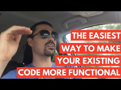 The easiest way to make your existing code more functional