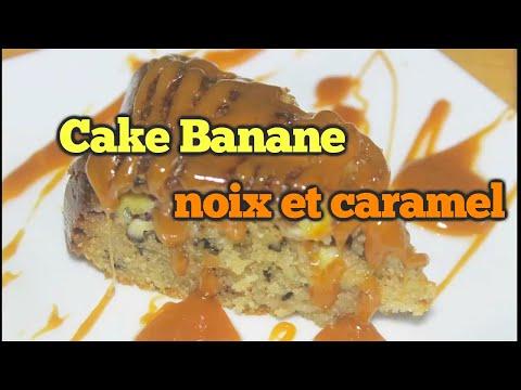 cake-bananes,-noix-et-caramel
