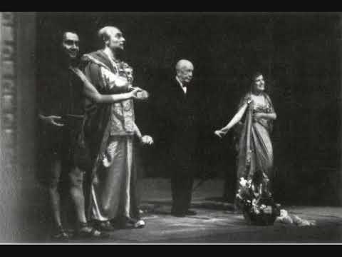 Inge Borkh. Final de Salomé. Met, 1958.