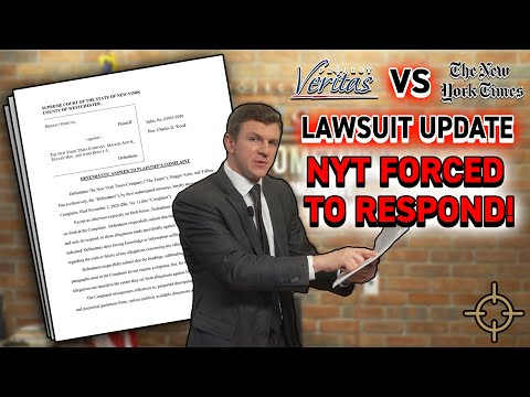 LEGAL UPDATE: NYT FORCED by court to ANSWER Veritas's defamation allegations, STUNNING Admissio