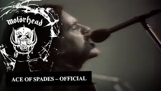 Motörhead – Ace Of Spades (Official Video)