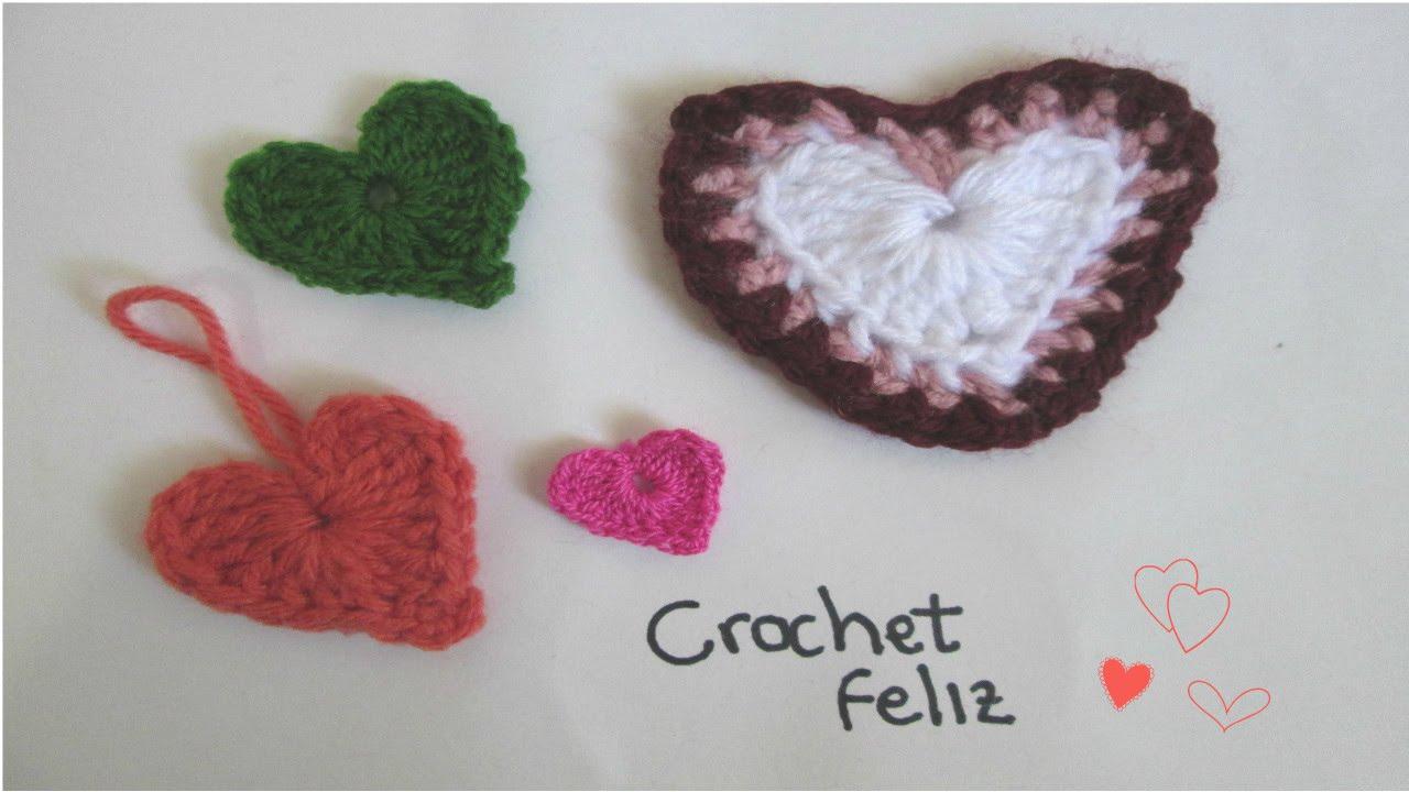 Bonito Los Patrones De Crochet Corazón Principiantes Festooning ...