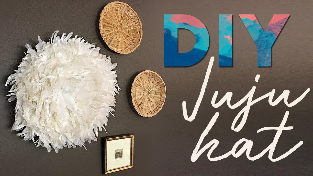DIY JuJu Hat Wall Decor - YouTube