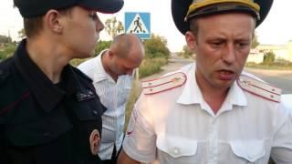Незаконное задержание. ДПС г. Гагарин