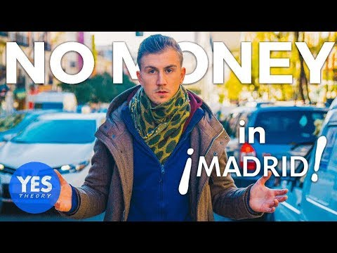 ABANDONED IN MADRID WITH NO MONEY FOR 24 HOURS (ended up on national radio!)