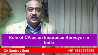 Role of CA as an Insurance Surveyor in India