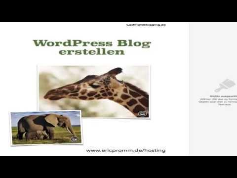 Einen WordPress Blog erstellen Tipps und Tutorial