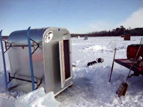 Lake winnebago light weight tipdown ice shanty design p for Spear house blueprints