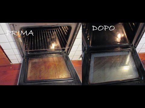 Esperimento Forno Pulito In Pochi Secondi Con Bicarbonato E Aceto