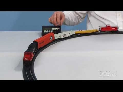 How to set up and run a Walthers Trainline Railtech model railroad train set