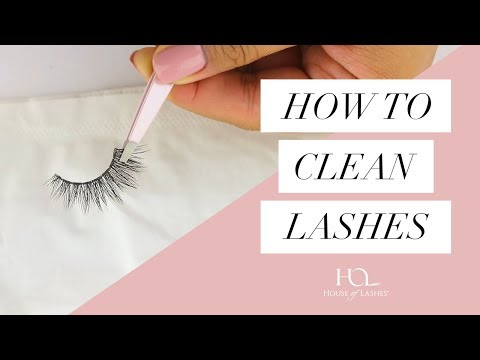 Best Way to Clean Your False Lashes