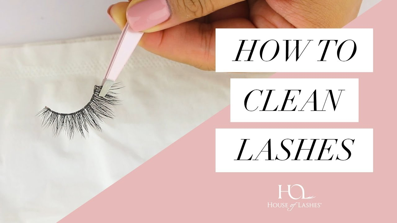 d4694136d69 Best Way to Clean Your False Lashes - YouTube