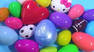 Surprise Eggs Opening | Hello Kitty Frozen MLP LPS Shopkins Palace Pets