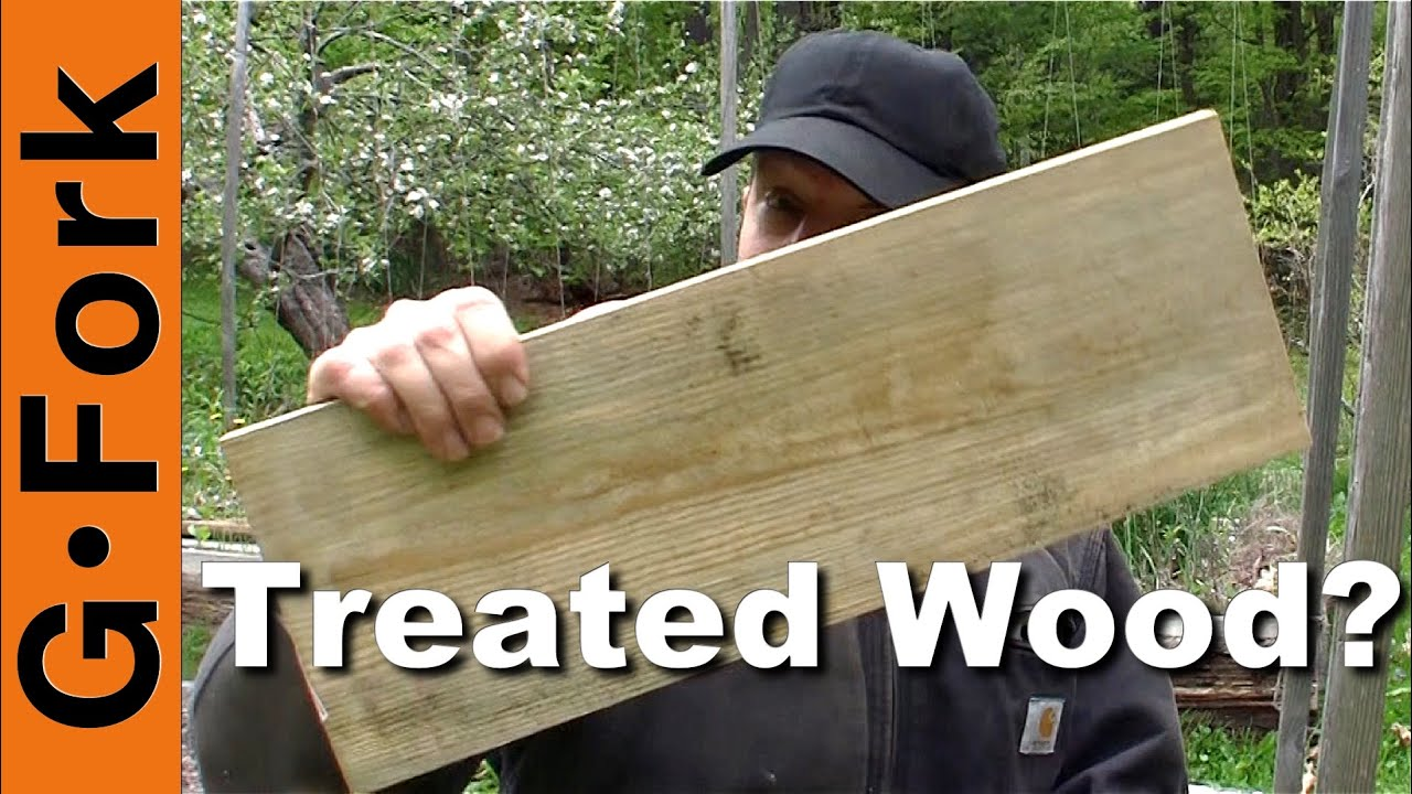 Pressure treated wood for raised garden beds gardenfork youtube for Pressure treated wood for garden