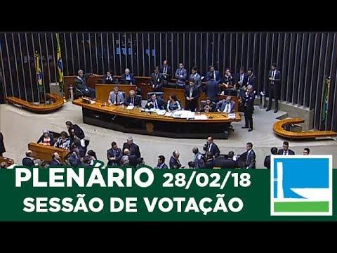 PLENÁRIO - Sessão Deliberativa - 28/02/2018 - 18:53