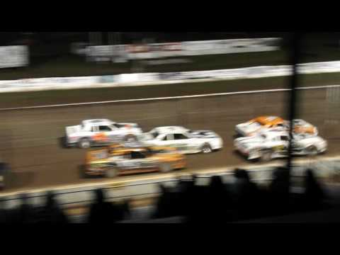 red cedar speedway Punky Manor street stocks 2016