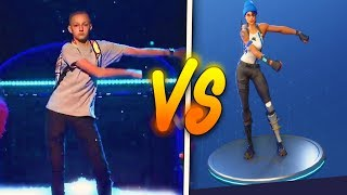 BAILES DE FORTNITE IN REAL LIFE!! *EPICO* - ByIvanYT