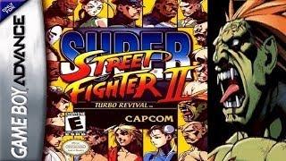 Super Street Fighter II - Turbo Revival - Blanka (GBA)