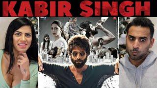 KABIR SINGH – Official Trailer REACTION & REVIEW! | Shahid Kapoor | Kiara Advani