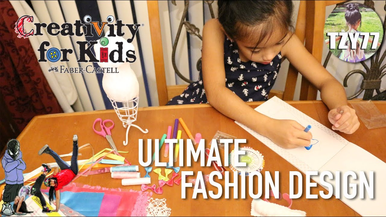 Creativity For Kids Ultimate Fashion Designer Unboxing Review Youtube